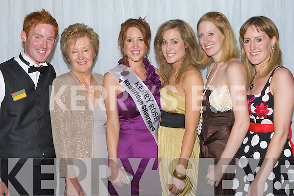 FAMILY SUPPORT: Kerry Rose Karen McGillycuddy with her family, brother Tom, mother Patricia, and sisters Patrice, Ellen and Marie.