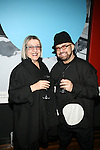 Irene Kojen and singer and actor Yakov Yavno Attend Flatt Book 6 Launch Party & Salute to Flattprize & National Arts Club Residency Recipient Fabrizio Arrieta Held at The National Arts Club, NY