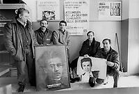 - PCI (Partito Comunista Italiano), sezione Ho Ci Min davanti allo stabilimento Alfa Romeo di Arese (1986)....- PCI (Italian Communist Party), section Ho Ci Min in front of Alfa Romeo factory at Arese (1986)....