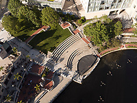 Waterfront Place, Providence, RI aerial view