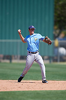 Tampa Bay Rays Tristan Gray (53) during a Minor League Spring Training game against the Minnesota Twins on March 15, 2018 at CenturyLink Sports Complex in Fort Myers, Florida.  (Mike Janes/Four Seam Images)