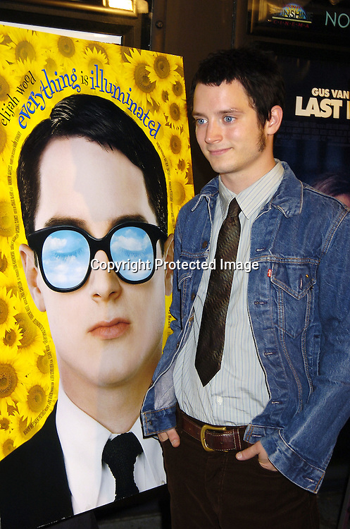 "Elijah Wood ..at The New York City Premiere of "" Everything Is Illuminated"" on September 15, 2005 at the Landmark Sunshine Cinema. Liev Schreiber directed the movie and Elijah Wood stars in it. ..Photo by Roibn Platzer, Twin Images"