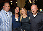 From left: Gerry Del Prete and Stephanie Tallent with Claudia and Mark Kelly at the Second Annual True Blue Gala sponsored by the Houston Police Foundation at the home of Paige and Tilman Fertitta Saturday Oct. 17,2009. (Dave Rossman/For the Chronicle)
