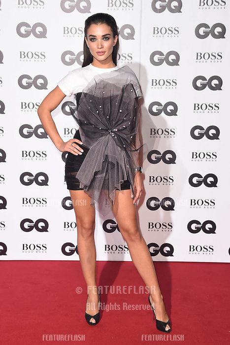 LONDON, UK. September 05, 2018: Amy Jackson at the GQ Men of the Year Awards 2018 at the Tate Modern, London