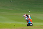 Ran Hong of Korea in action during the Hyundai China Ladies Open 2014 Pro-am on December 10 2014, in Shenzhen, China. Photo by Xaume Olleros / Power Sport Images