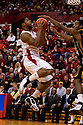 01 March 2011: Lance Jeter #34 of the Nebraska Cornhuskers gets two with a lay up during the first half against the Missouri Tigers at the Devaney Sports Center in Lincoln, Nebraska. Nebraska defeated Missouri 69 to 58.