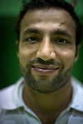 Rakesh, one of the member of the Indian Kabbadi team poses for a portrait at a month long camp in Sport Authority of India Sports Complex in Bisankhedi, outskirts of Bhopal, Madhya Pradesh, India.