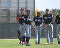 Ichiro Suzuki (Marlins),<br /> FEBRUARY 17, 2017 - MLB :<br /> Miami Marlins spring training baseball camp in Jupiter, Florida, United States. (Photo by AFLO)