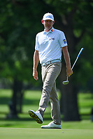 Brandt Snedeker (USA) reacts to his putt on 2 during round 2 of the 2019 Charles Schwab Challenge, Colonial Country Club, Ft. Worth, Texas,  USA. 5/24/2019.<br /> Picture: Golffile   Ken Murray<br /> <br /> All photo usage must carry mandatory copyright credit (© Golffile   Ken Murray)