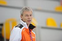SPEEDSKATING: SOCHI: Adler Arena, 20-03-2013, Training, Arie Koops (KNSB), © Martin de Jong