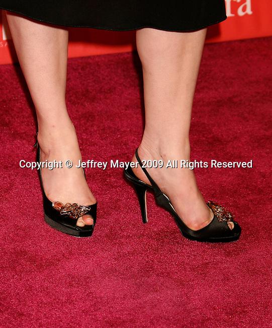 CENTURY CITY, CA. - June 12: Christina Hendricks arrives at Women In Film's 2009 Crystal + Lucy Awards held at the Hyatt Regency Century Plaza on June 12, 2009 in Century City, California.