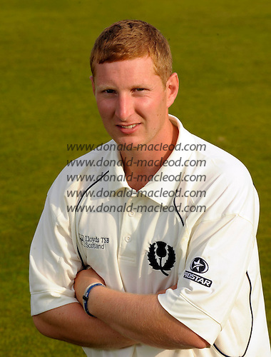 Profile picture - Scotland player Stuart Chalmers - Picture by Donald MacLeod 08.07.09