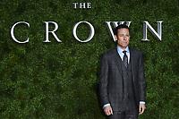 "LONDON, UK. November 13, 2019: Tobias Menzies arriving for ""The Crown"" series 3 premiere at the Curzon Mayfair, London.<br /> Picture: Steve Vas/Featureflash"