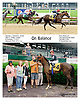 On Balance winning at Delaware Park racetrack on 6/11/14