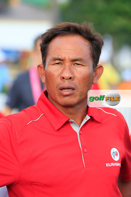 Thongchai Jaidee (THA) Asian Team during Pro-Am Day of the 2016 Eurasia Cup held at the Glenmarie Golf &amp; Country Club, Kuala Lumpur, Malaysia. 14th January 2016.<br /> Picture: Eoin Clarke | Golffile<br /> <br /> <br /> <br /> All photos usage must carry mandatory copyright credit (&copy; Golffile | Eoin Clarke)