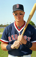 Boston Red Sox Greg Blosser during spring training circa 1992 at Chain of Lakes Park in Winter Haven, Florida.  (MJA/Four Seam Images)