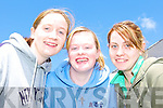 Killarney Community College pupils l-r: Rebecca Nagle, Caroline McCarthy and Leanne Kelleher feeling confident after the first English paper of their leaving cert on Wednesday.   Copyright Kerry's Eye 2008