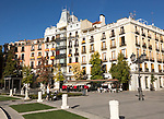 Historic apartments in  Plaza de Oriente, Madrid, Spain