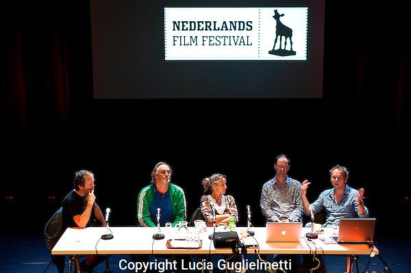 Utrecht,22 sept 2011 .Nederlands FILM FESTIVAL.De Clinic Technisch acteren.Foto Lucia Guglielmetti.
