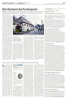 die tageszeitung taz (German daily) on the Romanian gold mining project of Rosia Montana, 02.2014<br /> Photos: Martin Fejer