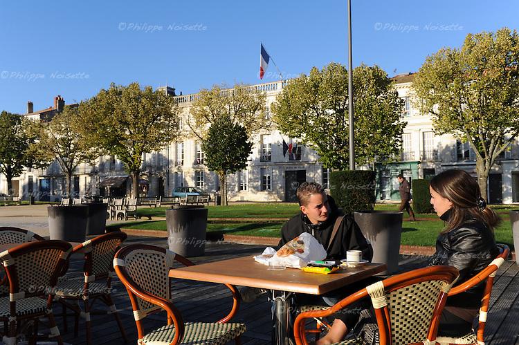 20081023 - France - Poitou-Charentes - Rochefort<br />La Place Colbert a Rochefort.<br />Ref : ROCHEFORT_024.jpg - &copy; Philippe Noisette.