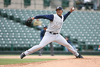April 15th, 2007:  Paulino Reynoso of the Charlotte Knights, Class-AAA affiliate of the Chicago White Sox, during a game at Frontier Field in Rochester, NY.  Photo by:  Mike Janes/Four Seam Images