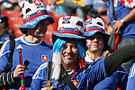24 JUN 2010: Slovakia fans, pregame. The Slovakia National Team played the Italy National Team at Ellis Park Stadium in Johannesburg, South Africa in a 2010 FIFA World Cup Group F match.