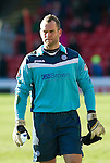 Aberdeen v St Johnstone....19.02.12   SPL.Saints keeper Alan Mannus.Picture by Graeme Hart..Copyright Perthshire Picture Agency.Tel: 01738 623350  Mobile: 07990 594431