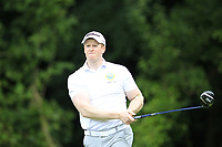 Paul Reavey (Warrenpoint) during the final of the AIG Barton Shield Ulster Final Golf Club, Belfast, Northern Ireland. 27/08/2017<br /> Picture: Fran Caffrey / Golffile<br /> <br /> All photo usage must carry mandatory copyright credit (&copy; Golffile | Fran Caffrey)