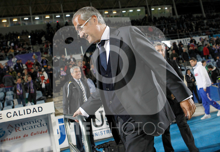 Atletico de Madrid's coach Gregorio Manzano during La Liga match.November 6,2011. (ALTERPHOTOS/Acero)