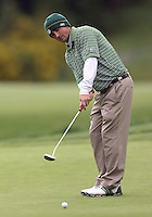 22 May, 2010:   Loyola Colleges Jay Mulieri attempts a putt on hole ten during day three of the first round of the NCAA West Regionals at Gold Mountain Golf course in Bremerton, WA