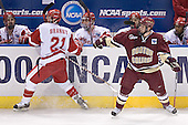 Ryan MacMurchy, Adam Burish, Wisconsin ?, Robbie Earl - Andy Brandt, Mike Brennan - The University of Wisconsin Badgers defeated the Boston College Eagles 2-1 on Saturday, April 8, 2006, at the Bradley Center in Milwaukee, Wisconsin in the 2006 Frozen Four Final to take the national Title.