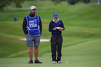 Azahara Munoz (ESP) looks over her chip on 2 during the round 1 of the KPMG Women's PGA Championship, Hazeltine National, Chaska, Minnesota, USA. 6/20/2019.<br /> Picture: Golffile | Ken Murray<br /> <br /> <br /> All photo usage must carry mandatory copyright credit (© Golffile | Ken Murray)