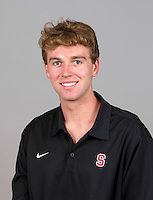 Michael Holloway with Stanford Men's Water Polo. Photo taken on Wednesday, September 25, 2013.