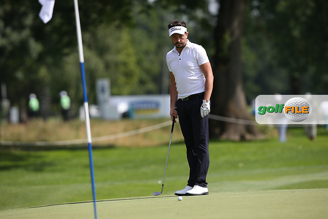 Mike Lorenzo-Vera (FRA) on the 3rd green during Round One of the 2015 BMW International Open at Golfclub Munchen Eichenried, Eichenried, Munich, Germany. 25/06/2015. Picture David Lloyd | www.golffile.ie