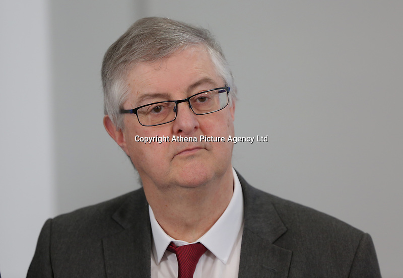 Assembly Member Mark Drakeford during the Swansea Bay City Region deal, at the Liberty Stadium, Swansea, Wales, UK. Monday 20 March 2017.