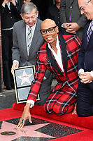 LOS ANGELES - MAR 16:  Leron Gubler, RuPaul at the RuPaul Star Ceremony on the Hollywood Walk of Fame on March 16, 2018 in Los Angeles, CA