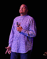 FORT LAUDERDALE, FL - AUGUST 11: Sinbad performs at The Parker Playhouse on August 11, 2017 in Fort Lauderdale Florida. Credit: mpi04/MediaPunch