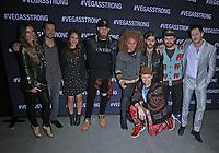 01 December 2017 - Las Vegas, NV -  Kurt Busch, Bryce Harper, Carrot Top, Imagine Dragons.  Vegas Strong Benefit Concert Red Carpet Arrivals at T Mobile Arena. Photo Credit: MJT/AdMedia