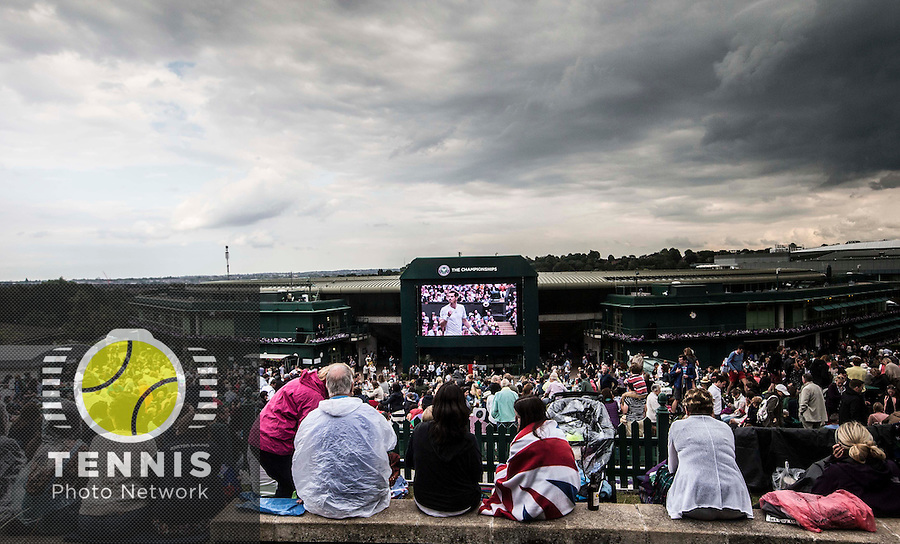 AMBIENCE<br /> <br /> The Championships Wimbledon 2014 - The All England Lawn Tennis Club -  London - UK -  ATP - ITF - WTA-2014  - Grand Slam - Great Britain -  30th June 2014. <br /> <br /> © Tennis Photo Network