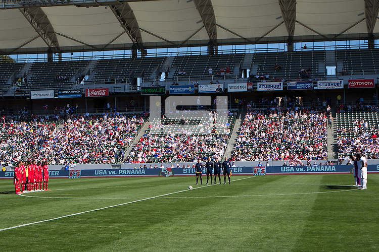 Carson, Calif. - Sunday, February 8, 2015: The USMNT defeated Panama 2-0 in an international friendly at StubHub Center.