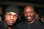 R&B signer Ne-Yo, and Shawn Punch at the 360 Induced Executive Mixer, hosted by Ne-Yo at Millesime NYC, January 19, 2011.