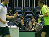 12-02-14, Netherlands,Rotterdam,Ahoy, ABNAMROWTT, Mariska Oosterhuis<br /> Photo:Tennisimages/Henk Koster