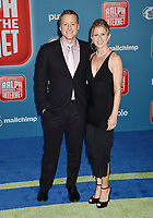 HOLLYWOOD, CA - NOVEMBER 05: Alan Tudyk and Charissa Barton attend the Premiere Of Disney's 'Ralph Breaks The Internet' at the El Capitan Theatre on November 5, 2018 in Los Angeles, California.<br /> CAP/ROT/TM<br /> &copy;TM/ROT/Capital Pictures