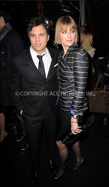 WWW.ACEPIXS.COM . . . . . ....February 17 2010, New York City....Mark Ruffalo and guest arriving at the New York premiere of 'Shutter Island' at the Ziegfeld Theatre of February 17 2010 in New York City......Please byline: KRISTIN CALLAHAN - ACEPIXS.COM.. . . . . . ..Ace Pictures, Inc:  ..(212) 243-8787 or (646) 679 0430..e-mail: picturedesk@acepixs.com..web: http://www.acepixs.com
