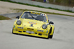 Peter Kitchak races his 1973 Porsche 911 RSR at the SVRA Vintage GT Challenge at Road America, 2005