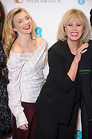 Natalie Dormer and Joanna Lumley<br /> at the photocall for BAFTA Film Awards 2018 nominations announcement, London<br /> <br /> <br /> &copy;Ash Knotek  D3367  09/01/2018