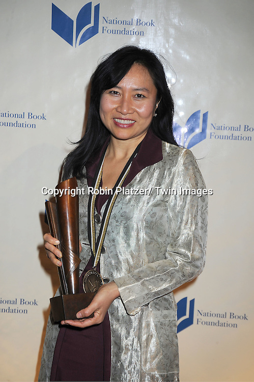 winner Thanhha Lai for Young People's Literature, attends The 2011 National Book Awards Gala on November 16, 2011 at Cipriani Wall Street in New York City.