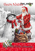 Marcello, CHRISTMAS SANTA, SNOWMAN, WEIHNACHTSMÄNNER, SCHNEEMÄNNER, PAPÁ NOEL, MUÑECOS DE NIEVE, paintings+++++,ITMCXM1456,#X#