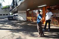 SAO PAULO, 02 DE JULHO DE 2012 - TELAO FINAL LIBERTADORES - Comeca amanha (03) a venda dos ingressos para o torcedor corinthiano que quiser acompanhar a final da Copa Santander Libertadores de 2012 no Parque Anhembi, nesta quarta-feira (04), quando, ao lado da Brahma, instalará o maior painel de LED de alta definição da história do Brasil. Com 50% do valor subsidiado pelo clube, o torcedor paga R$ 20,00 no ingresso que estara a venda a partir das 10h no portao 22 do estadio do Pacaembu. FOTO: ALEXANDRE MOREIRA - BRAZIL PHOTO PRESS